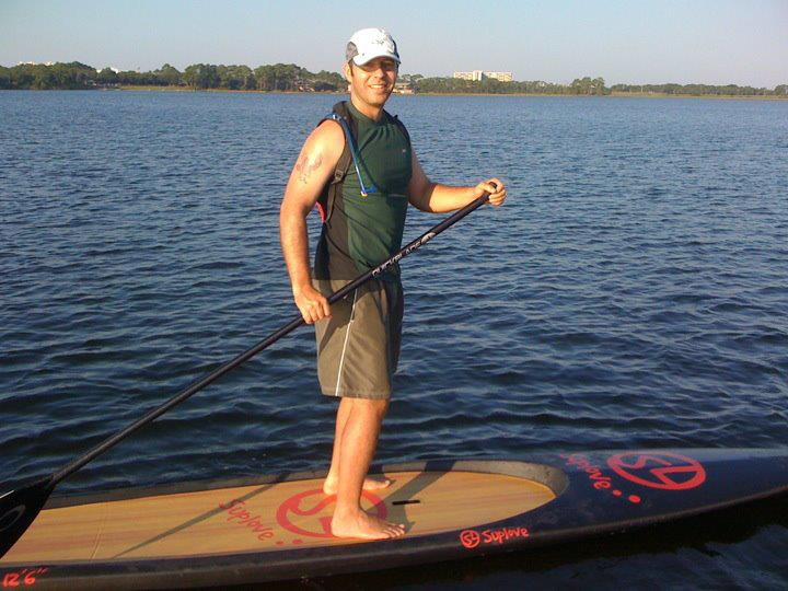 Paul Zipes Stand Up Paddling