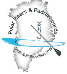 Polar Bears and Paddle Boards Logo