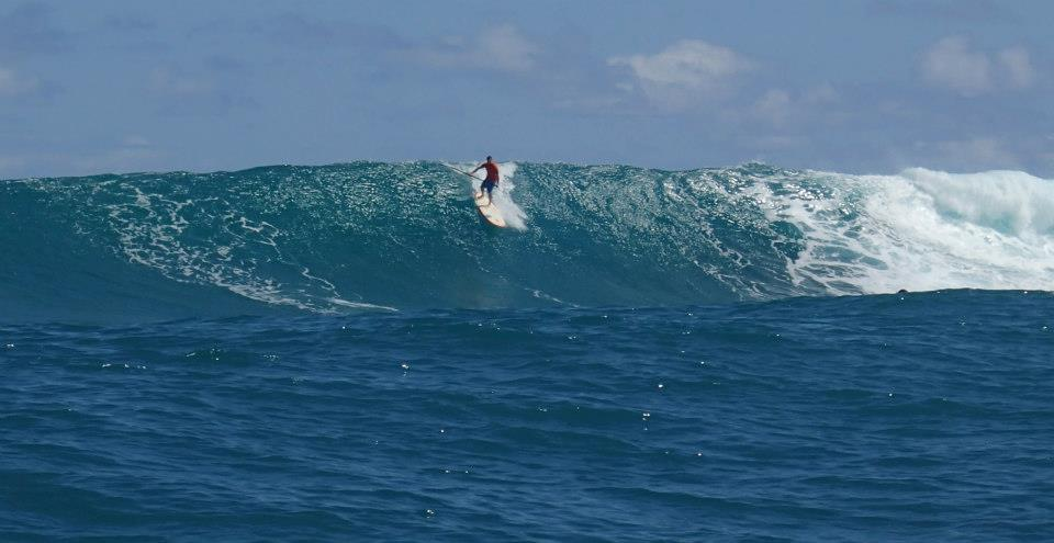 Jeremy Riggs Surfing Maui