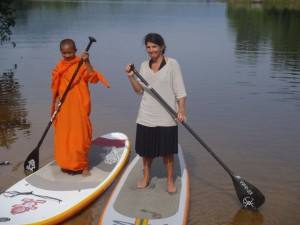 Anne Pizey Cambodia SUP