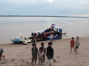The Mekong River SUP