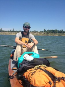 Scott Mestrezat Paddles The Missouri River