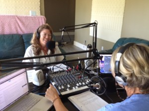 Emily Ellis in SUP Radio Studio