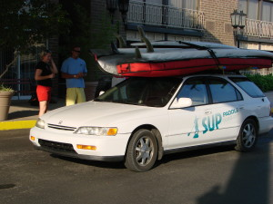 Stand Up Paddle Car Shuttle Photo Credit Joan Vienot