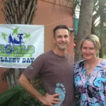 Christian Wagley and Leslie Kolovich at Meet and Greet WPFTP 2013