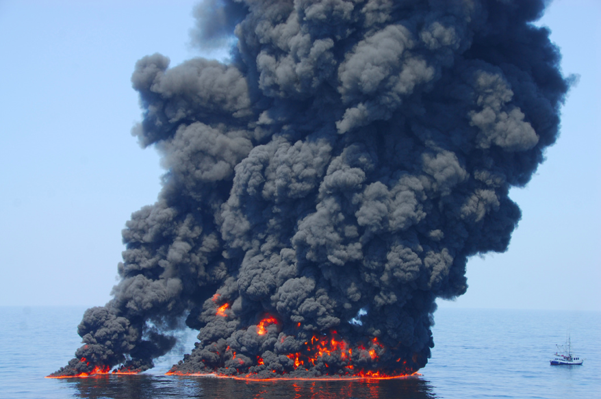 BP Oil Tragedy Gulf of Mexico photo credit NOAA