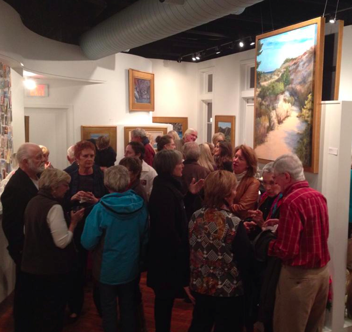 Melody Bogle Coastal Destinations Art Opening