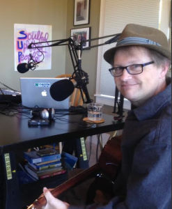Tommy Womack in SUP Radio Studio