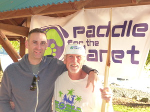 Paddle For The Planet Bob Purdy and Son Chad- SUP Radio